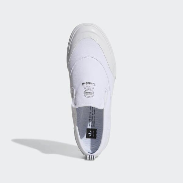 ec09f255b31522 Matchcourt Slip-On ADV Shoes Cloud White   Cloud White   Cloud White F37386