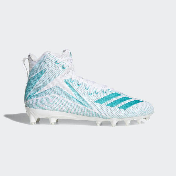 san francisco 5ff9b d3308 Freak X Carbon Mid Parley Cleats Cloud White  Eqt Green  Cloud White  CQ1518