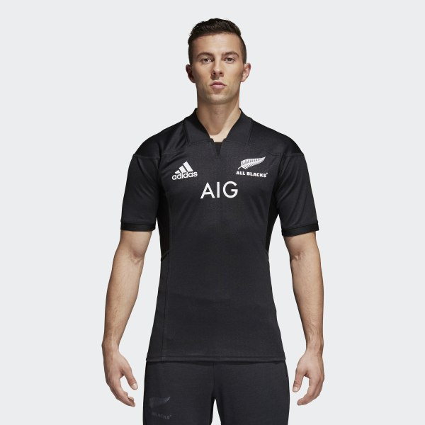 adidas All Blacks Home Replica Jersey - Black  82ad58e32