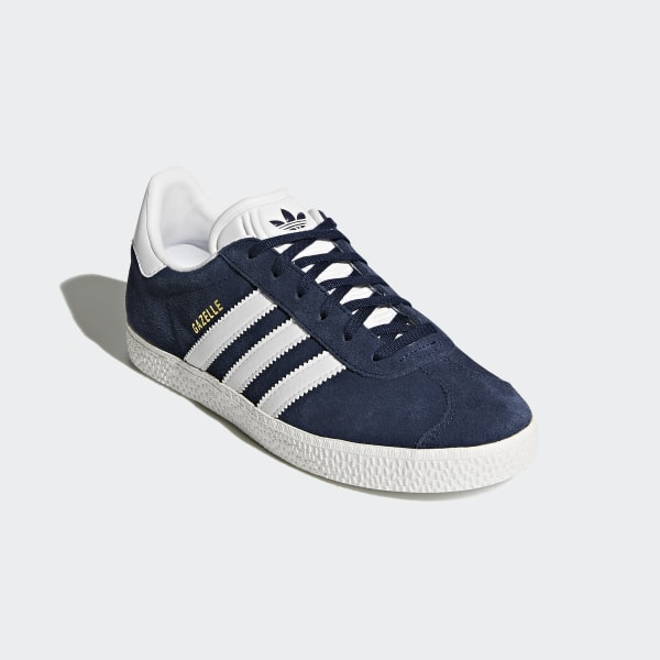 89258ee6299 Gazelle Shoes Collegiate Navy   Ftwr White   Ftwr White BY9144