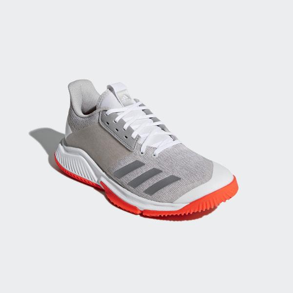 fe4fb020716e Crazyflight Team Shoes Cloud White   Silver Metallic   Grey CP8896