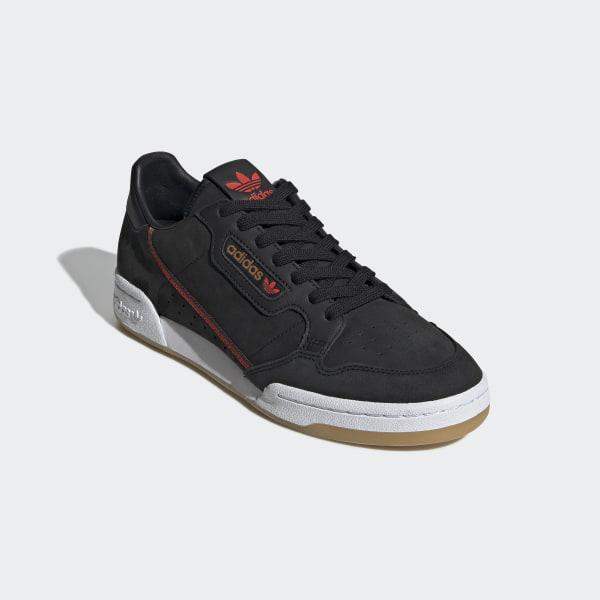 timeless design db77c 54e44 Originals x TfL Continental 80 Shoes Core Black  Grey Six  Gum 3 EE7270