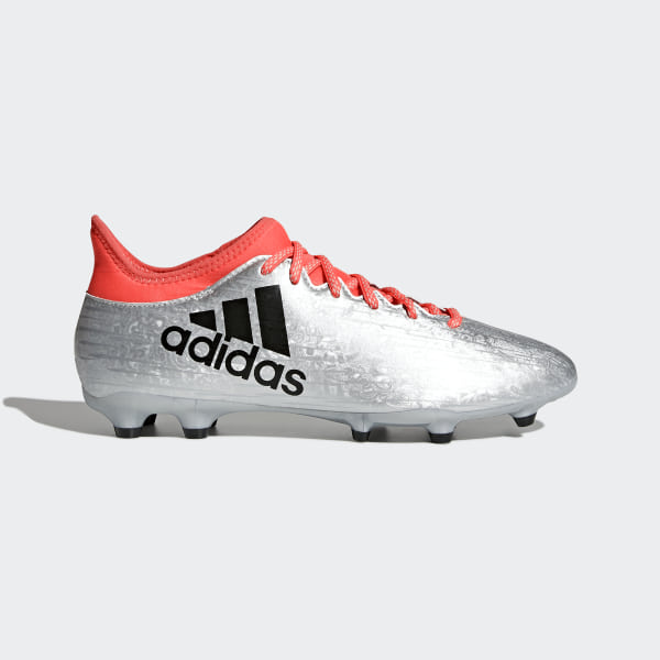 separation shoes 6011c 29cdb Calzado Fútbol X 16.3 FG SILVER MET. CORE BLACK SOLAR RED S79485