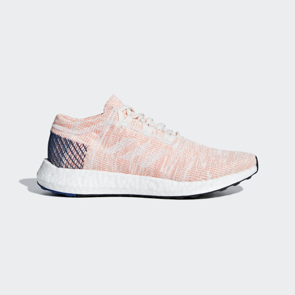 Pureboost Go Shoes Running White   Cloud White   Mystery Ink B75666 bbc8071e6