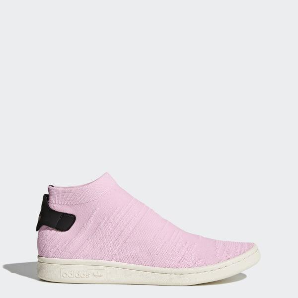 size 40 8cdbf e197a Stan Smith Shock Primeknit Schuh Wonder Pink   Wonder Pink   Core Black  BY9250