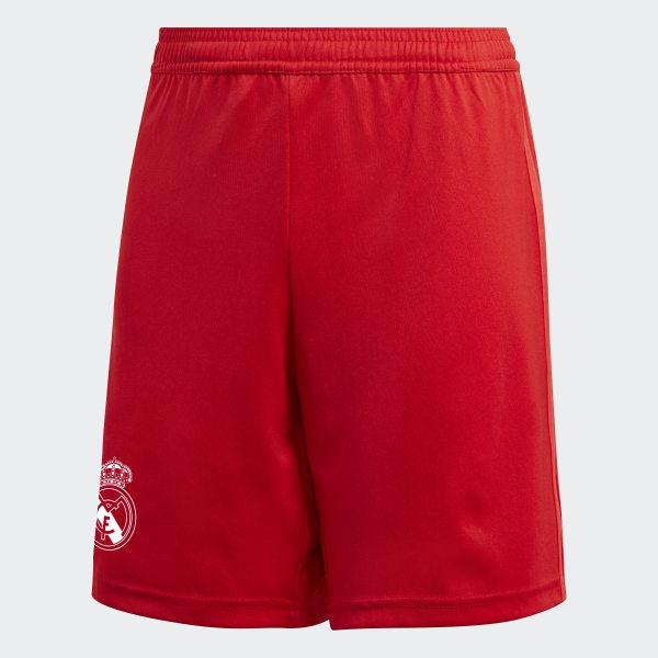 eeaa42bfcb093 Real Madrid Third Shorts Youth Vivid Red DQ0871