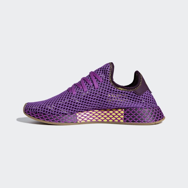 best cheap 354a9 eaaaf Dragonball Z Deerupt Runner Shoes Shock Purple  Red Night  Shock Yellow  D97052
