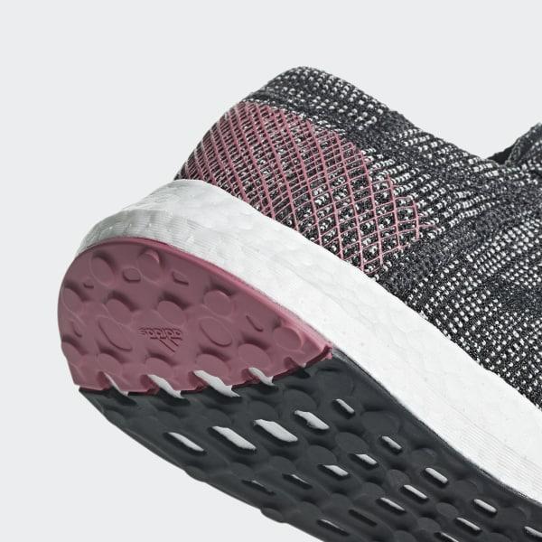 ea35f1af18e07 Pureboost Go Shoes Carbon   Carbon   Trace Maroon B75667