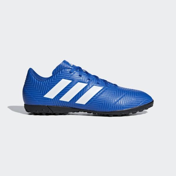 the best attitude 07b53 75176 Guayos Nemeziz Tango 18.4 Césped Artificial FOOTBALL BLUE FTWR WHITE FOOTBALL  BLUE DB2264