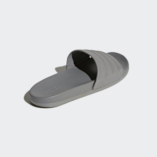 29744204555e4a adilette Cloudfoam Plus Mono Slides Grey Three Grey Three Grey Three S80977