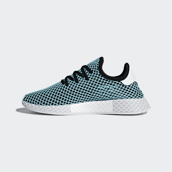 766d6429df4d6 Deerupt Runner Parley Shoes Core Black   Core Black   Blue Spirit CQ2623