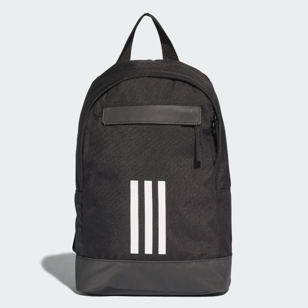 b3c13107a7 Mochila adidas Classic 3-Stripes Backpack Extra Small BLACK WHITE WHITE  CV7144