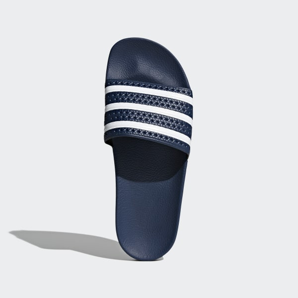5fb1988383c5 Adilette Slides Adi Blue   White   Adi Blue 288022