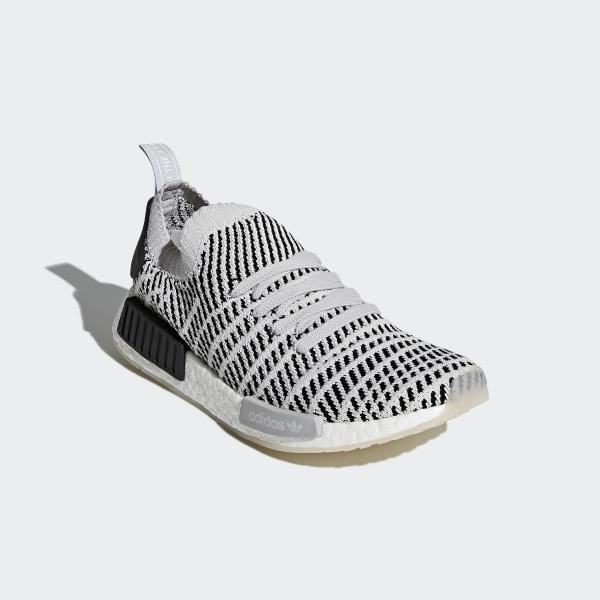 06d81e1ebcf44 NMD R1 STLT Primeknit Shoes Grey Two   Grey One   Core Black CQ2387
