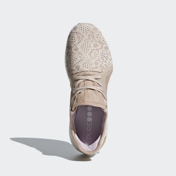 9e118eed79658 Pureboost X Element Shoes Ash Pearl   Ash Pearl   Hi-Res Blue BB6088