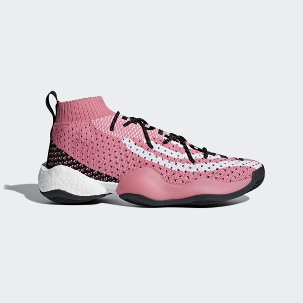timeless design b4837 28d14 Chaussure Crazy BYW LVL x Pharrell Williams Chalk Pink  Cloud White  Core  Black G28183