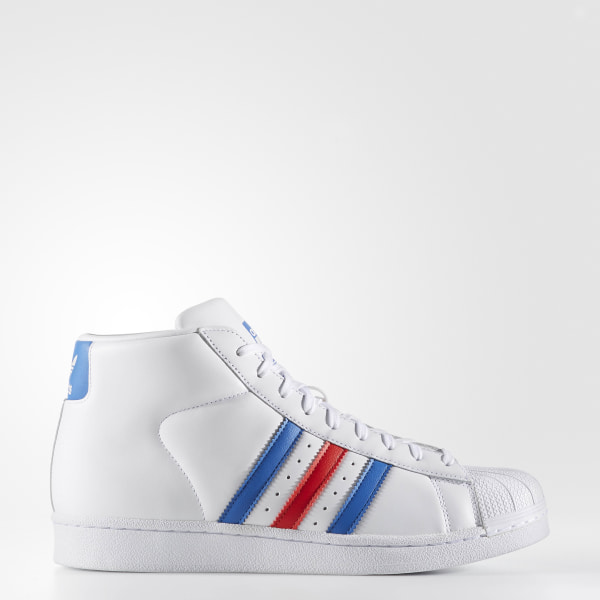 buy online 73b56 6b2da Pro Model Shoes Cloud White  Blue  Red BB2252