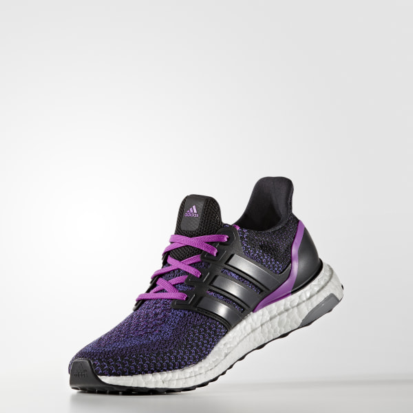 quality design 2ded4 755d0 ULTRABOOST Shoes Core Black  Core Black  Shock Purple AQ5935