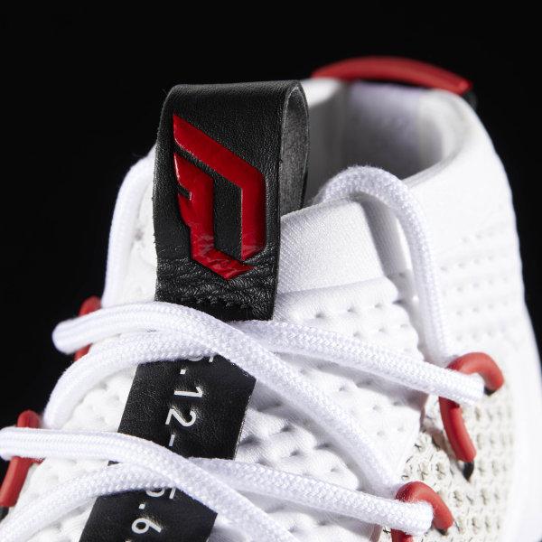sports shoes e8c5b 0507d Dame 4 Shoes Cloud White  Core Black  Scarlet BY3759
