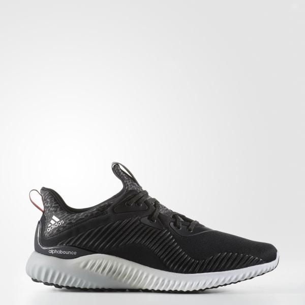 low priced 8734c 7ea1b Alphabounce Shoes Core Black  Silver Metallic  Cloud White B42744