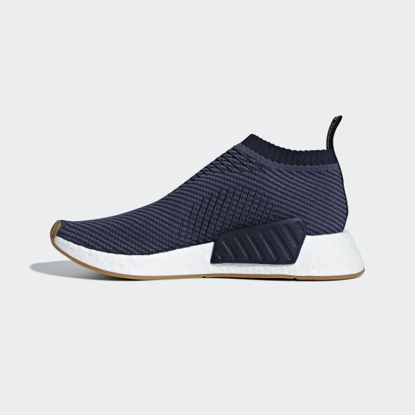 306e7fec36743 NMD CS2 Primeknit Shoes Trace Blue   Light Solid Grey   Gum D96741