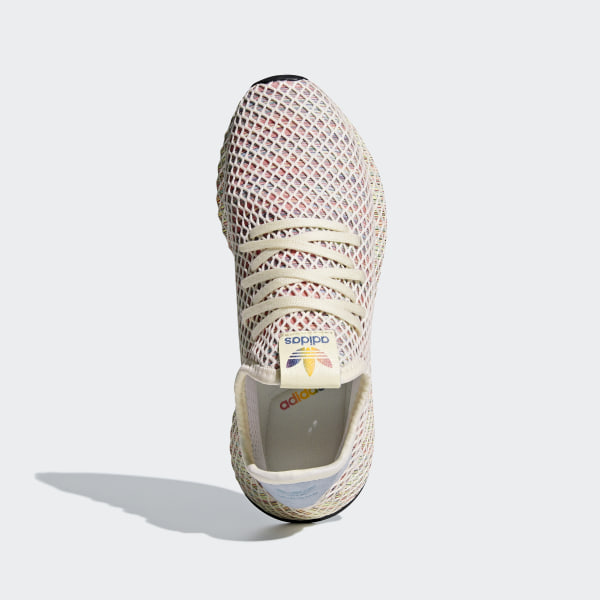 b4a052223dc1d Deerupt Pride Shoes Cream White   Ash Grey   Core Black CM8474