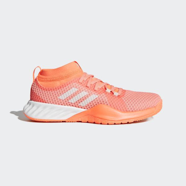 meet 8cb5f 6a2b6 Chaussure CrazyTrain Pro 3.0 Chalk CoralChalk PearlHi-Res Orange CG3481