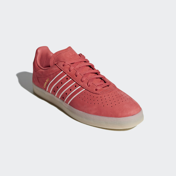 best service 0216e 1f1b7 Oyster Holdings adidas 350 Shoes Trace Scarlet  Chalk White  Gold  Metallic DB1975