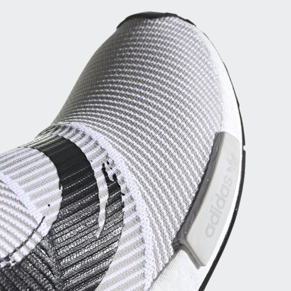60ad23194a35f NMD CS1 Primeknit Shoes Cloud White   Cloud White   Core Black BB9260