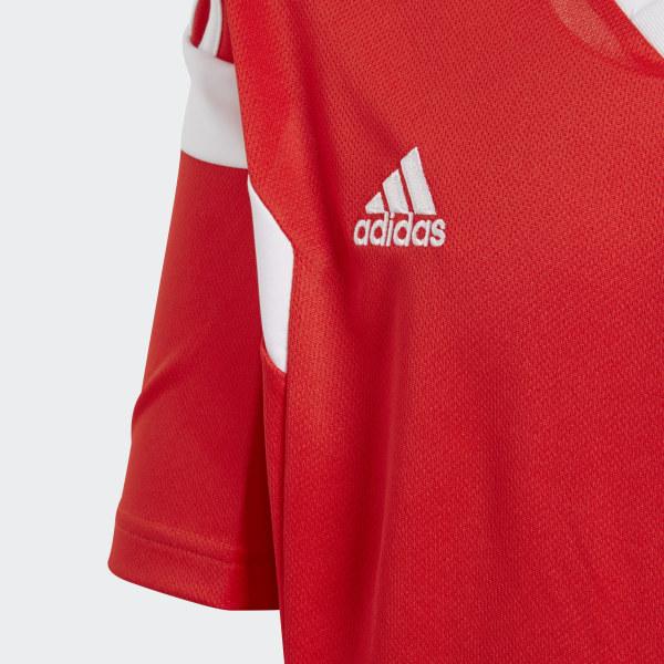 4d4e33859baa7 adidas Camiseta Oficial Selección de Rusia Local Niño 2018 - Rojo ...