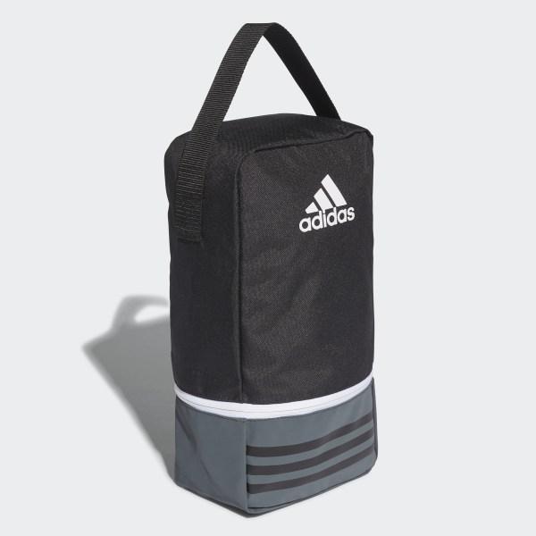 deafbc97dfea Tiro Shoe Bag Black Dark Grey White B46133