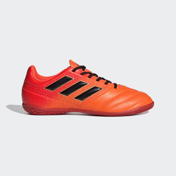 Chuteira Ace 17.4 Futsal Infantil SOLAR ORANGE CORE BLACK SOLAR RED S77107 0790a2c602c14