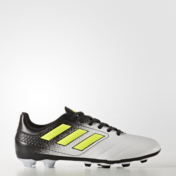 Calzado de Fútbol ACE 17.4 Terreno Flexible FTWR WHITE SOLAR YELLOW CORE  BLACK S77098 6a5fcc9c2f5f3