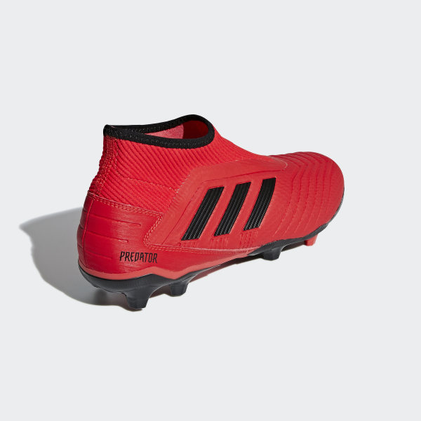 Predator 19.3 Laceless Firm Ground Cleats Active Red   Core Black   Core  Black F99730 172aefa0633