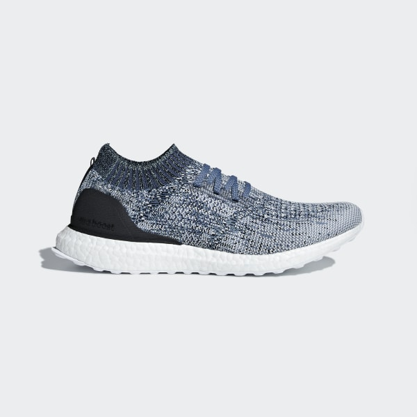 e4fa21d4431 Ultraboost Uncaged Parley Shoes Raw Grey   Chalk Pearl   Blue Spirit AC7590