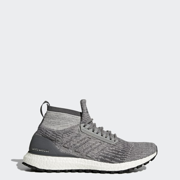 Ultraboost All Terrain Shoes Grey   Grey   Grey CG3000 27c8d9326