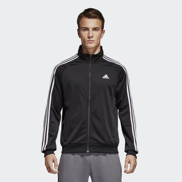 6031620b8b48 Essentials Track Jacket Black   White BR1024