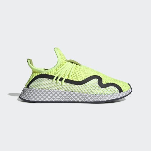 3b49d97ec4ed7 Deerupt S Runner Shoes Hi-Res Yellow   Core Black   Ftwr White BD7881