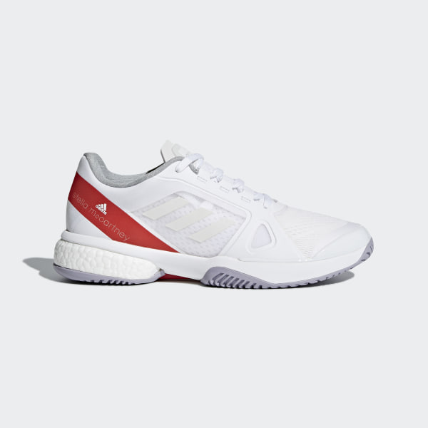 99498597612 adidas by Stella McCartney Barricade Boost Shoes - White