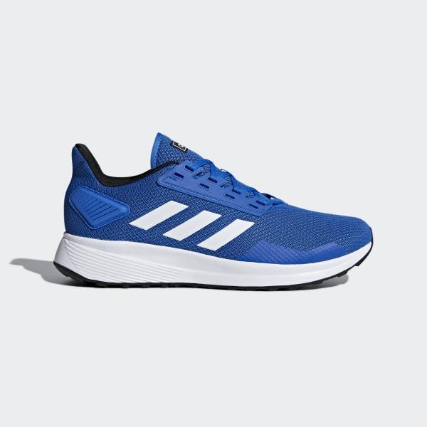 7b096b51f088f Duramo 9 Shoes Blue   Ftwr White   Core Black BB7067