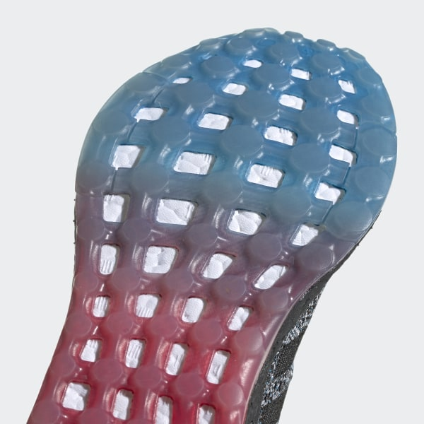 ecc31657a Pureboost DPR LTD Shoes Core Black   Core Black   Active Red B37801