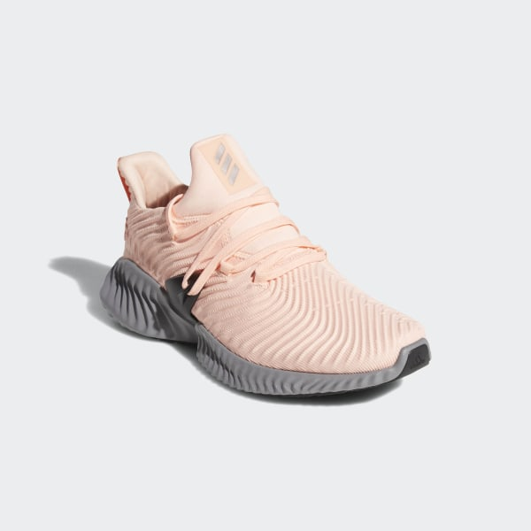 a7f0ab4d57ef8 Alphabounce Instinct Shoes Clear Orange   Silver Metallic   Grey Three  CG5591