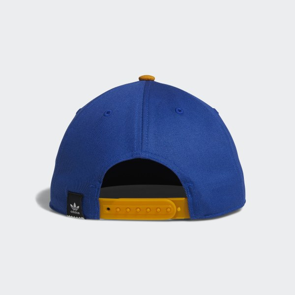 a0450fcb16c Two-Tone Trefoil Snapback Hat collegiate royal   tactile yellow f17 DH2569