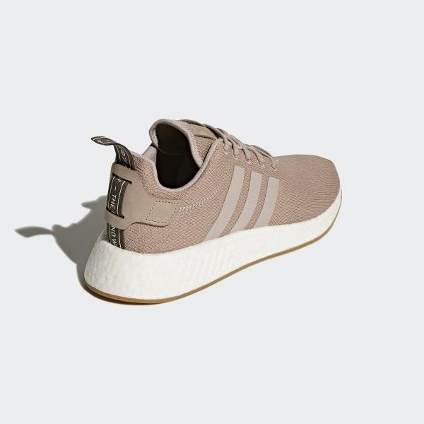 599e8918244543 NMD R2 Shoes Beige   Pink   Vapor Grey   Vapor Grey CQ2399