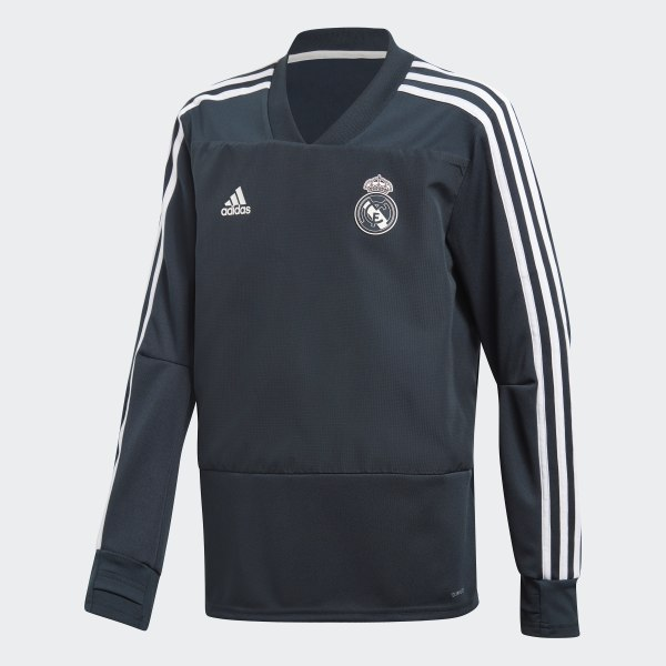 Camisola de Treino do Real Madrid Blue   Black   Core White CW8654 e135b1dd1af54