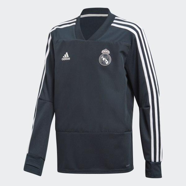 adidas Real Madrid Training Top - Blue  aafdd5d7c