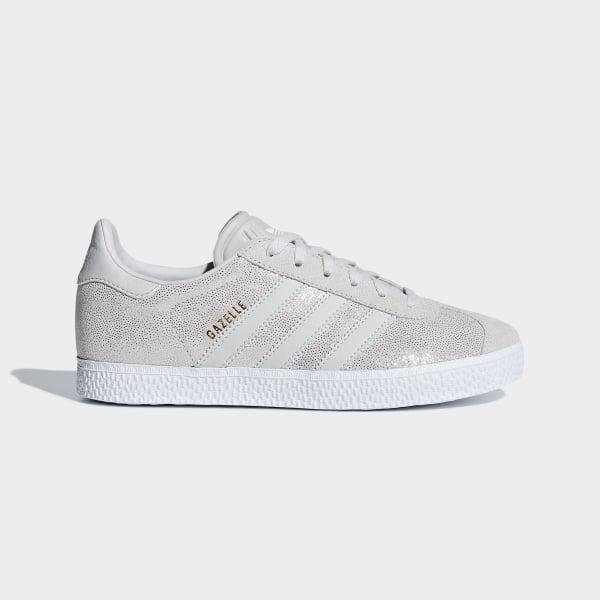 86995e031c4 Sapatos Gazelle Ftwr White   Grey One   Ftwr White F34555
