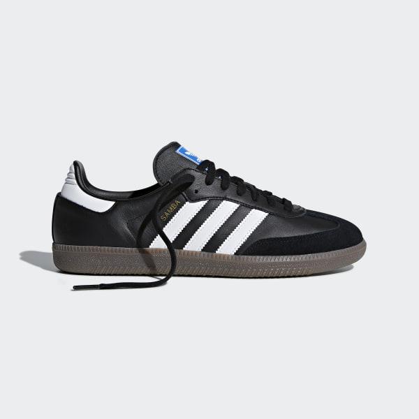 new product fd380 1b71d Samba OG Shoes Core Black   Cloud White   Gum B75807