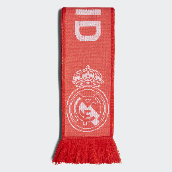 958a5b289ff Bufanda Real Madrid Real Coral   Vivid Red   White CY5604