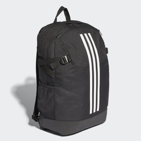88c45905d1 3-Stripes Power Backpack Large Black White White BR5863